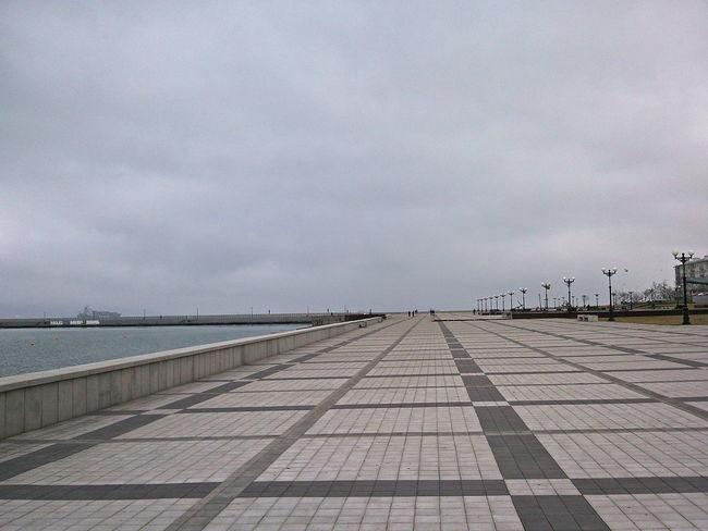 Calm Gloomy Day Grey Grey Sky January Long Novorossiysk Outdoors Quay Shades Of Grey Spacious Tranquil Day Tranquil Days Tranquil Live Winter Набережная Адмирала Серебрякова новороссийск