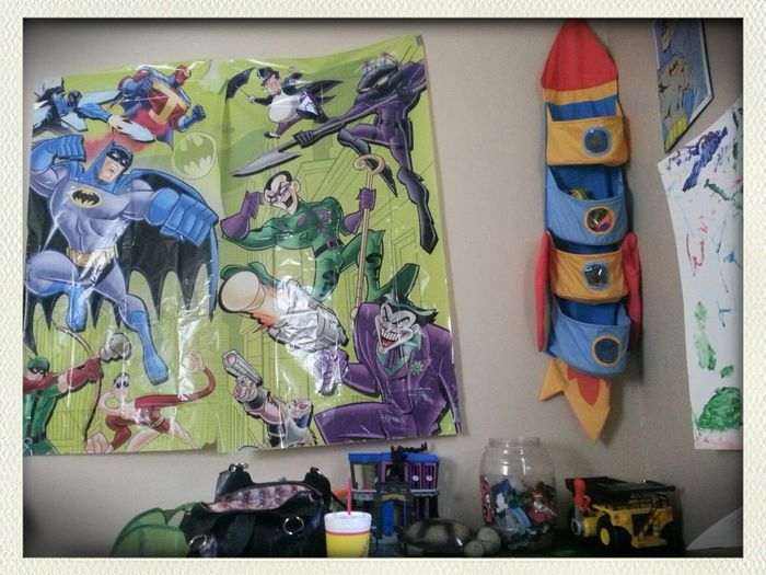 A A Super Heroes Room! My Ezekiel, loves Batman!! :D. What kid or grown-up doesn't!?? A Super Heroes Room!