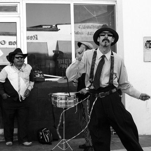 Pachucos Tirilones Blackandwhite Agfa BorderTown People