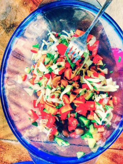 Healthy Food Salad Eating Healthy Enjoying Life Ebeshti Totally Worth It