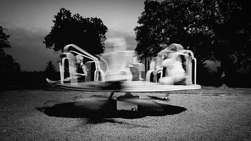 Hanging Out Taking Photos Black & White Black And White Eyeem Photography Capture The Moment EyeEm Best Shots Recreation  Kids At Play Kids Being Kids Playground Motion Capture Movement Family Life Fine Art Photography