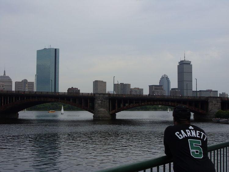 Hanging Out Thats Me  CelticsCharles River Boston Skyline... Boston Strong Back Home ♥ Boston, Massachusetts