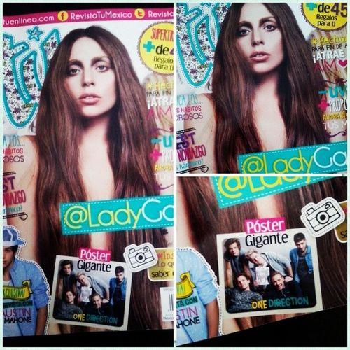 Super revista, con super póster ♥^•^ Muyenamorada Mishombres Migaga Milove yolo