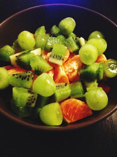 Fredagsmys Fruktsallad