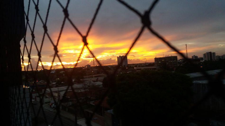 My Year My View Sky Sunset Urban Skyline Silhouette