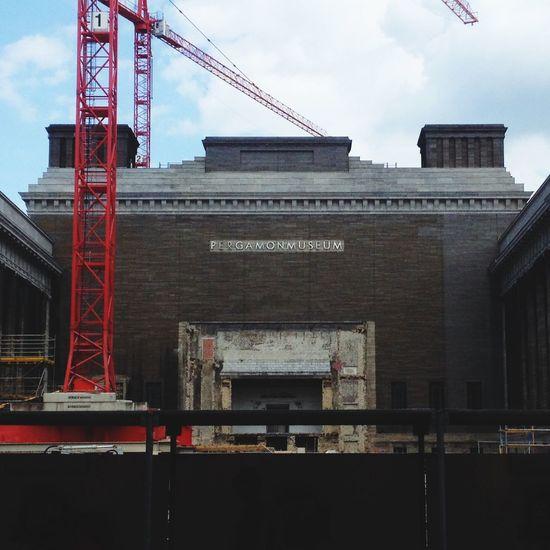 Baustellendingsi Pergamonmuseum