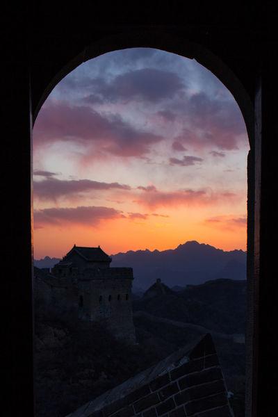 Chinesewall Sky Springtime Sunset Tower Window EyeEmNewHere The Great Outdoors - 2017 EyeEm Awards
