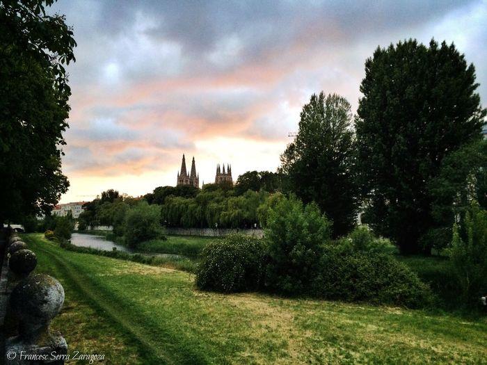 Sunset: Burgos