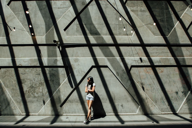 Architecture Built Structure Darkness Full Length Lifestyles Light Light And Shadow Lighting One Person Outdoors Pattern People Places And People Portrait Pose Posing Shadow Silhouette Standing Sunlight Sunny Day Sydney Symmetry Travel Young Women The Week On EyeEm Sommergefühle The Graphic City Capture Tomorrow 17.62°