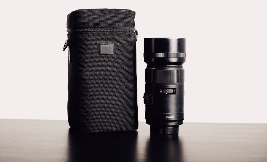 105mm Extra Accessories Close Up Close-up Day Digital Dslr Lens Indoors  Lense Luggage No People Optic Still Life Studio Shot White Background