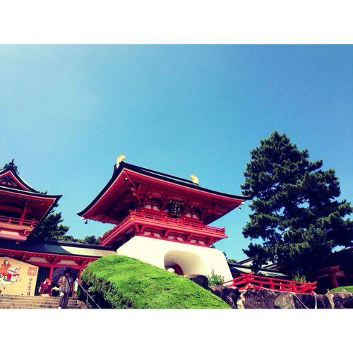 赤間神宮 Sky Photo Shrine