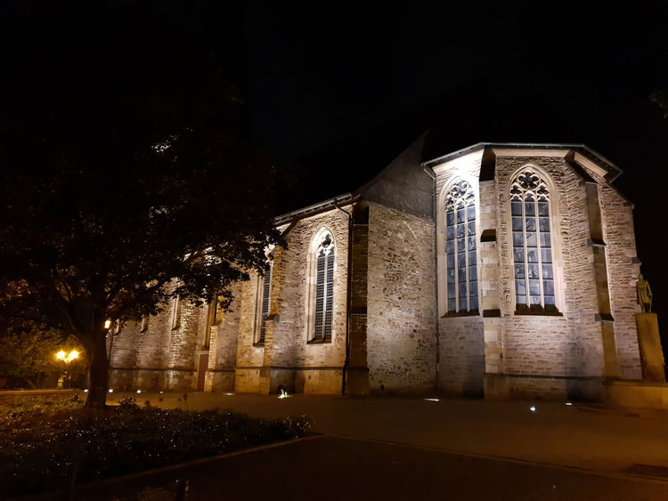 Church at night Historical Building Tourism Advertising Advertisement Night Walk Around The Town Lights Light In The Darkness Mülheim An Der Ruhr Mülheim (Ruhr) Oldtown Church Cathedral Walls Cathedral Copy Space City Marketing Travel Destinations Travel Background Night Dark Marketing Black Night Photography Evangelical Church Shadows & Lights Illuminated Cityscape Space Black Background Architecture HUAWEI Photo Award: After Dark