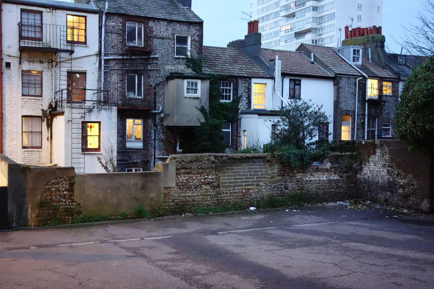 19th Century Buildings Architecture Building Exterior City England English Town Nightfall No People Terraced Houses Twilight Victorian Style