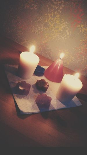 Flame Candle Burning Illuminated Glowing Tranquility No People Tranquil Scene Medium Group Of Objects Multi Colored Relax