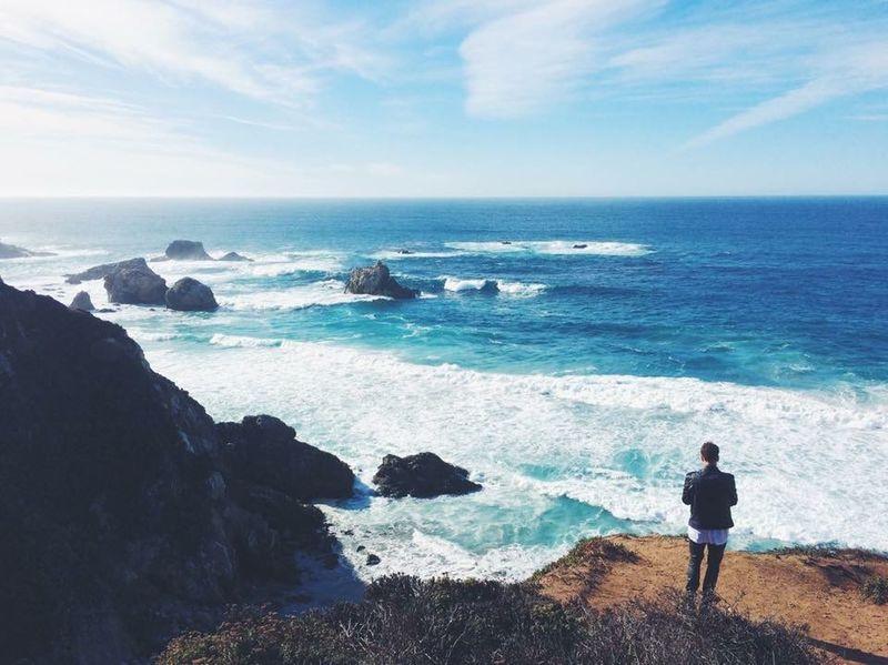 California Coast Ocean Nature Beach