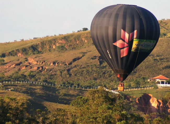 Air Vehicle Balloon Day Flying Landscape Outdoors Transportation