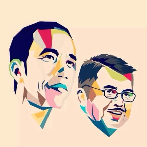 My President for INDONESIA 2014-2019 Jokowi and JusufKalla