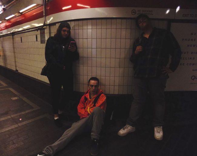 Subway series 2 The losers club Nikon Nikonphotography Subway Station Friends Best Friends Emma Tony Flexx Inspired Full Length Lifestyles Hemp Fest Pennywise IT