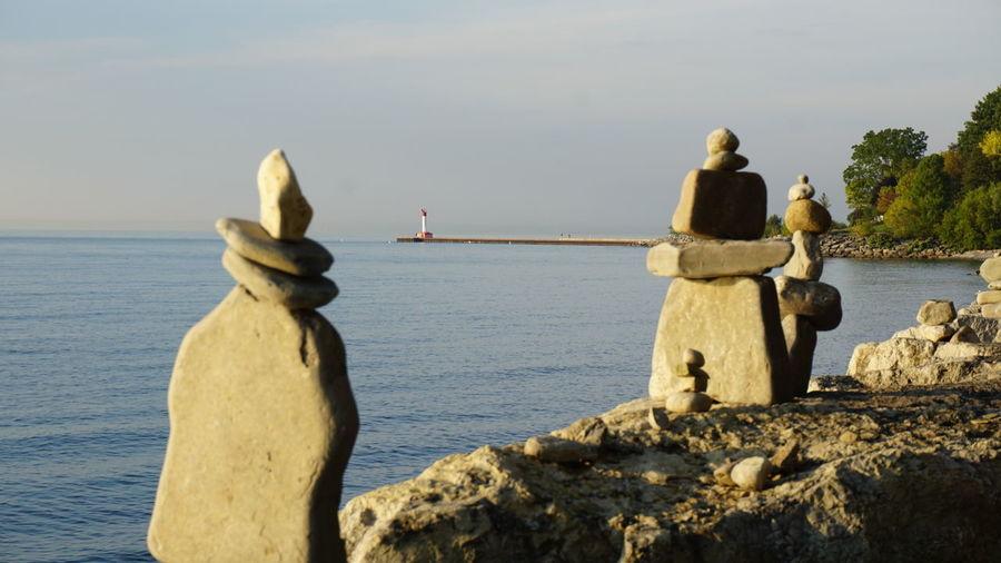 Lake Lakeontario  Karin Rock Art Water Water View