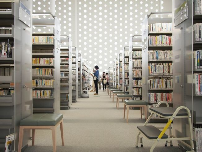 Architecture Perspectives Library Interior Design