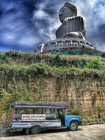 Outdoors Sky Cloud - Sky No People Day The Great Outdoors - 2017 EyeEm Awards EyeEm EyeEm Best Shots EyeEm Best Edits Huawei Leica Huaweimate9 Huaweiphotography Eyeem Market EyeEmNewHere Eyem Gallery Phuket,Thailand พระหินใหญ่ Big Buddha, Thailand Big Buddha Statue Big Buddha Phuket The Great Outdoors - 2017 EyeEm Awards