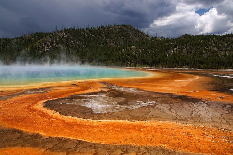 Yellowstone Yellowstone National Park Yellowstone USA USAtrip Voyage Trip Trip Photo Paysage