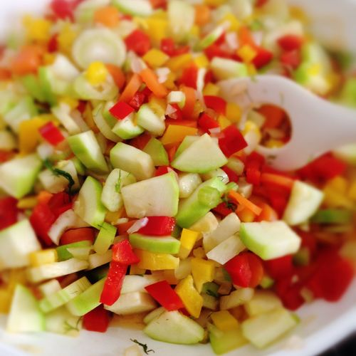 Colorful Vegetables Food Freshness Healthy Food Mixed Vegetables Ready-to-eat Vegan Food Vegetables Vegetarian Food