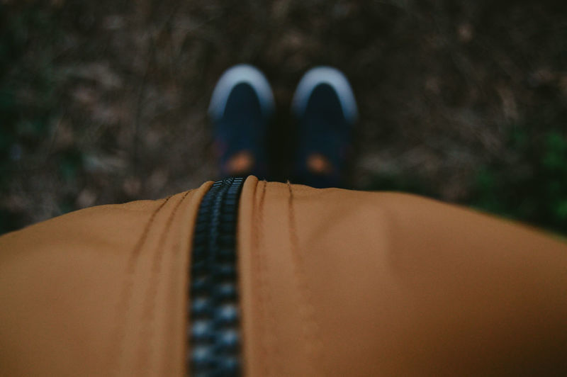 My feet on the ground Close-up One Person Human Body Part Clothing Men Outdoors Lifestyles Selective Focus Unrecognizable Person Day Blurred Nature Nature Photography EyeEm Nature Lover Yellow Shoes
