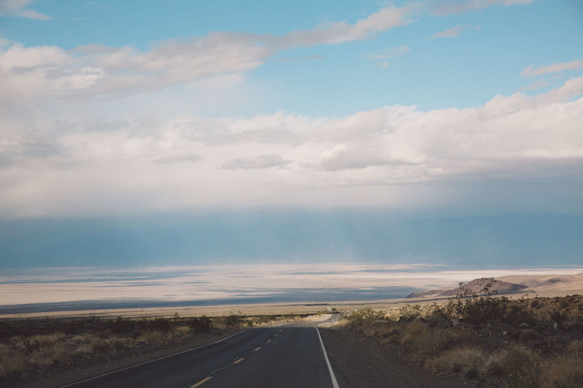 Arid Climate Arid Landscape Beauty In Nature Cloud - Sky Day Death Valley Death Valley National Park Desert Landscape Nature Nature No People Road Roadtrip Sand Storm Sandstorm Scenics Sky Storm The Way Forward Tornado Tranquil Scene Tranquility Transportation Twister