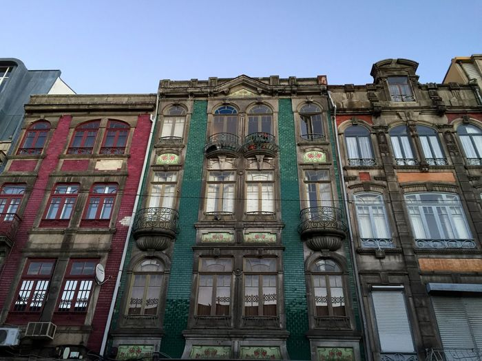 Bolhão Porto Portugal Buildings Tiles Portuguese Tiles  Colors Facades Windows
