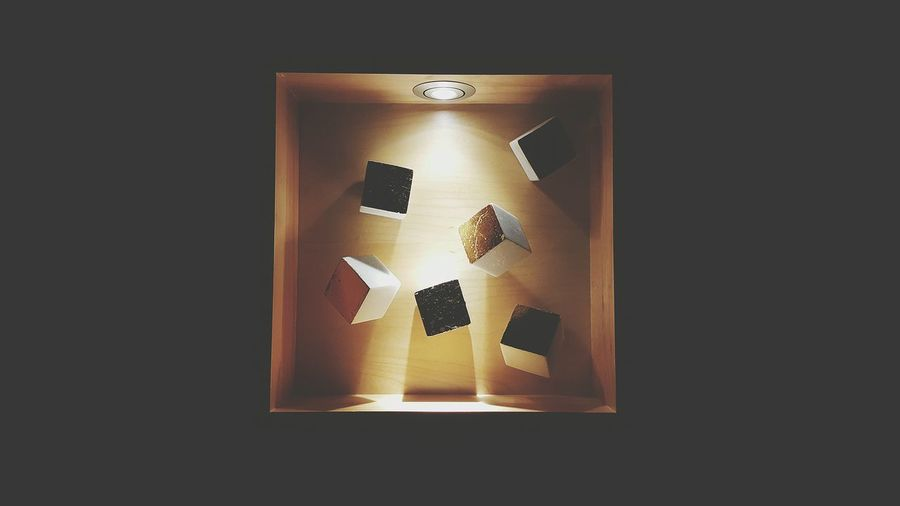 Come in Art Art Deco Light And Shadow Light Shadow Shadows Boxes 3D Effects Squares Random Art Installation Box In A Box Abstract Its The Little Things Gold Black Colors In The Wall Wallart Wooden Box Hyatt Regency Hyatt Night Light Floating