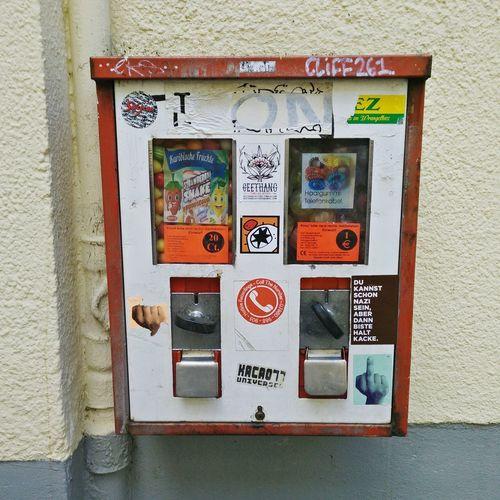 Drehknaufautomat Kaugummiautomat