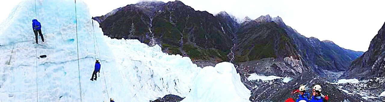 Franz Josef Better Look Twice Ice Climbing Ice Its Cold Outside Hanging Out Hanging Around Freezing Ice Blocks Climbing Mountains Mountain View Panoramic Landscape The Tourist Panoramic View Photography Taking Pictures Snowy Mountains Life Through A Lens Climbing A Mountain From My Point Of View Photographer Snow Panoramic Adventure Buddies Miles Away Go Higher