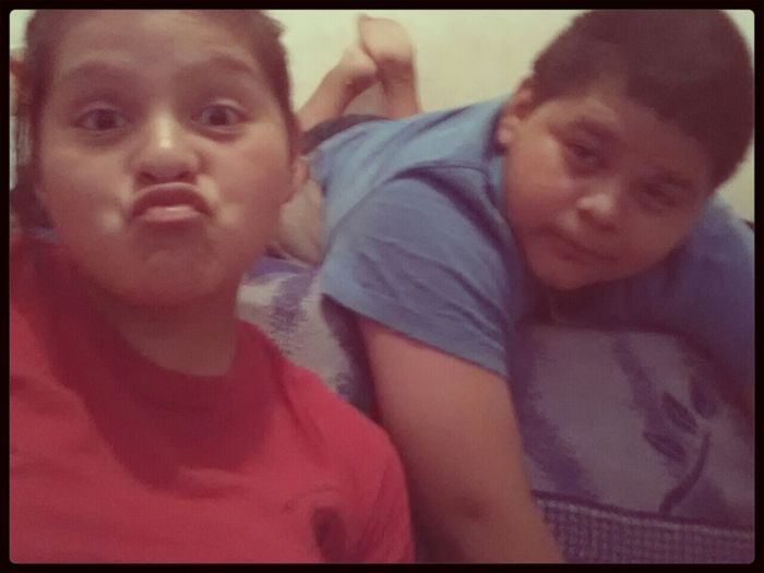 My Brother & I . We Do It For The Ratchets 