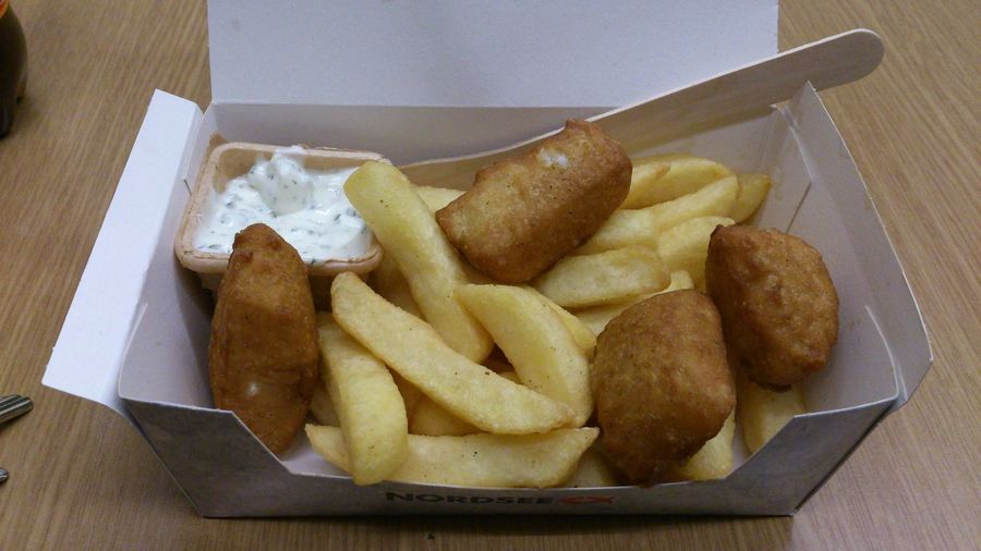 Food März 2014 Fish And Chips von Nordsee