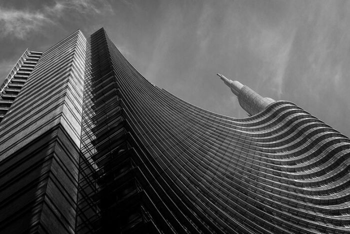 Unicredit Tower Milano Cesarpelli Architecture Blackandwhite Italy The Architect - 2016 EyeEm Awards The Architect - 2018 EyeEm Awards