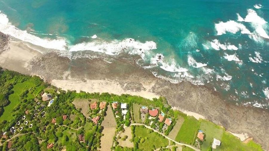 Hotel Playa Negra High Angle View Sea Beauty In Nature Nature Scenics Day Outdoors Water Green Color Aerial View No People Architecture Landscape Beach