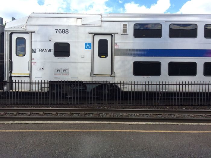 Train Nj Transit Plattform
