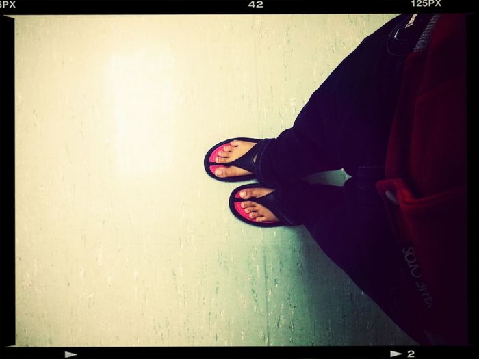 at hospital