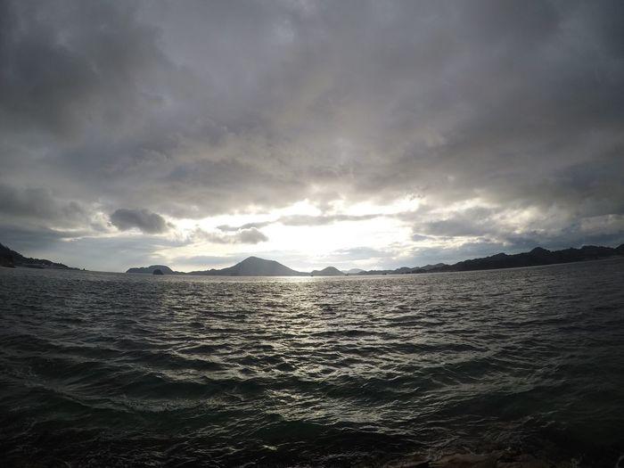 Japan Ehime sea