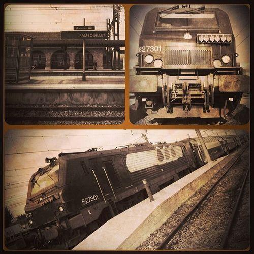 Insta Picture Train Transilien railwaygare