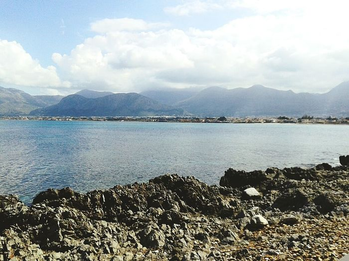 First Eyeem Photo Enjoying Life Beautiful Place Siciliamia Love Sicily Beautiful World Beautiful Nature Sea And Sky Sea Life No Filter