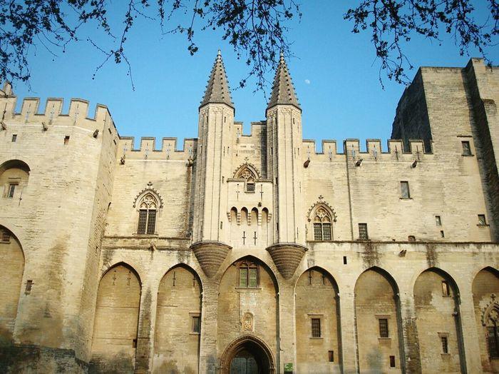 Palais des Papes Avignon France Architecture