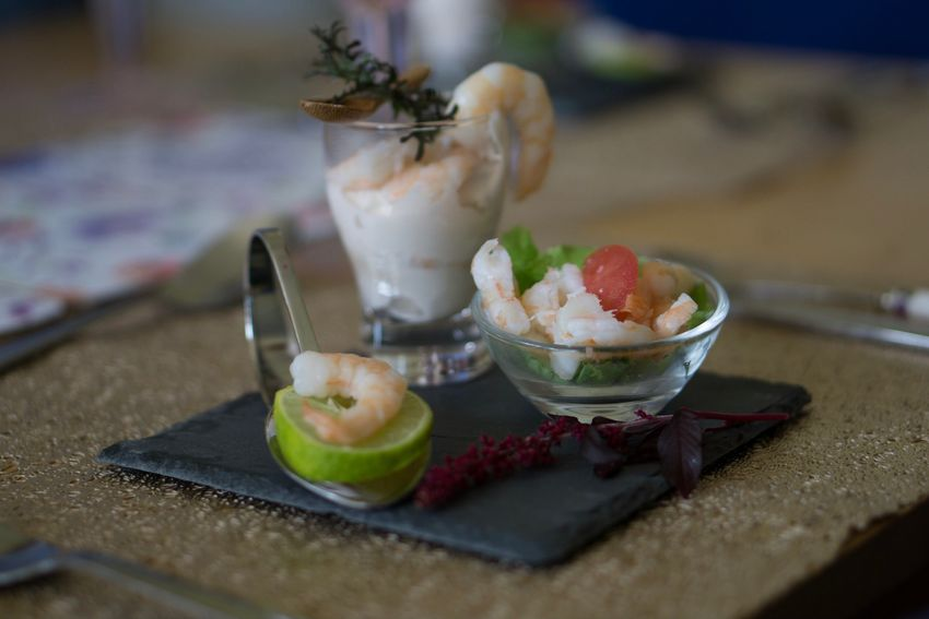 "My Dad likes to think he is a master chef in the making, he's always pottering about in the kitchen, and when it comes to occasions like Christmas, he tries to out do himself each year. This was his take on a ""prawn cocktail"" for this Christmas! Glass Slate - Rock Slate Plate Slate Gourmet Vegetables Lime Food Presentation Presentation Plating Prawn Cocktail Prawn Fish Food And Drink Dessert Freshness Still Life Table Indoors  Food Ready-to-eat Serving Size Selective Focus Plate Indulgence Bowl Healthy Eating Food Stories"