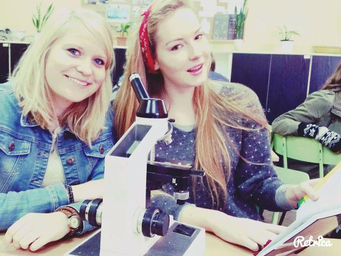 Poland Schüler At School my love Biologie in lieben untericht