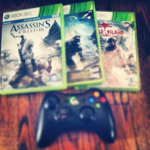 Fav games been playing this summer DeadIsland Halo4 Assassinscreed Xbox