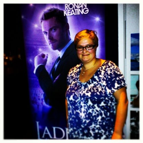 Omg!!! I just met Ronan Keating :-D Well almost anyway ;-) <3 RonanKeating Ladiesnight Stockholm Irish