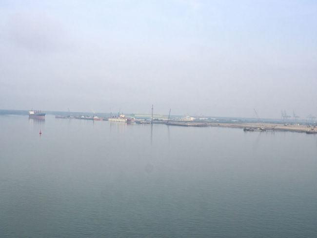Port of Phu My in Vietnam Harbour Phu My Hung Port Vietnam Water Working Port