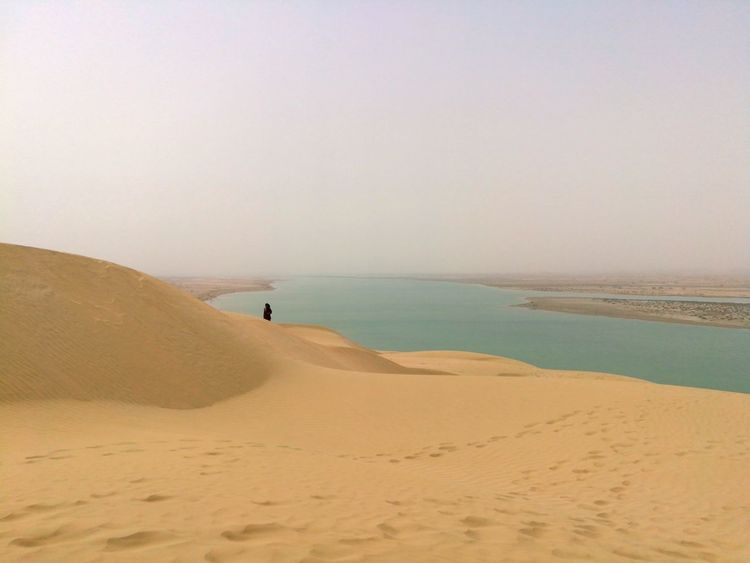 EyeEm Best Shots EyeEmNewHere EyeEm Selects Sand Dune Sea Beach Full Length Clear Sky Sand Desert Wave Sunset Incidental People