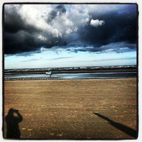 Bettystown Beach Bettystownbeach Shadows clouds sea instatag